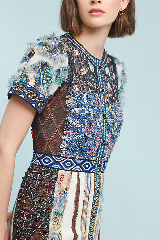 Anthropologie Lavenia Dress