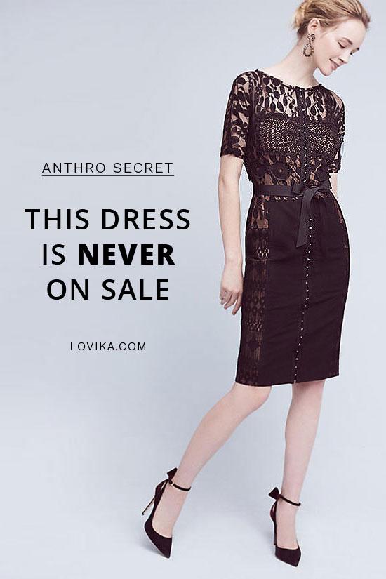 Anthropologie byron lars carissima sheath dress