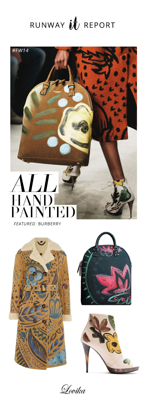 132fac78cc9d burberry runway report all hand painted fall winter 2014 collection