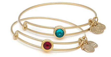 alex and ani quill sacred studs bangles