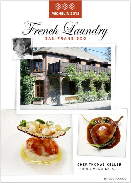 french laundry sf michelin star restaurant 2015