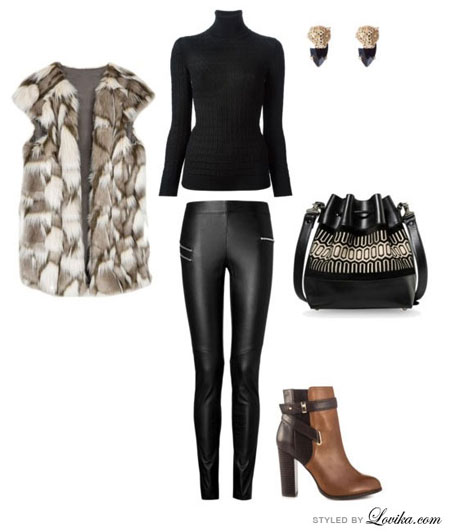 black turtleneck outfit ideas