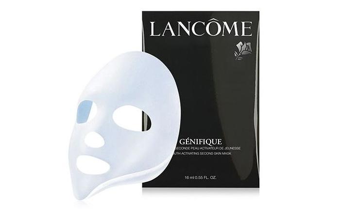 lancome genifique facial mask
