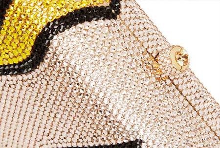 swarovskiy crystal embellished clutches
