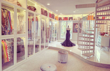 The biggest closet in the world is up for sale for Best walk in closets in the world