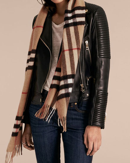 classic burberry scarves