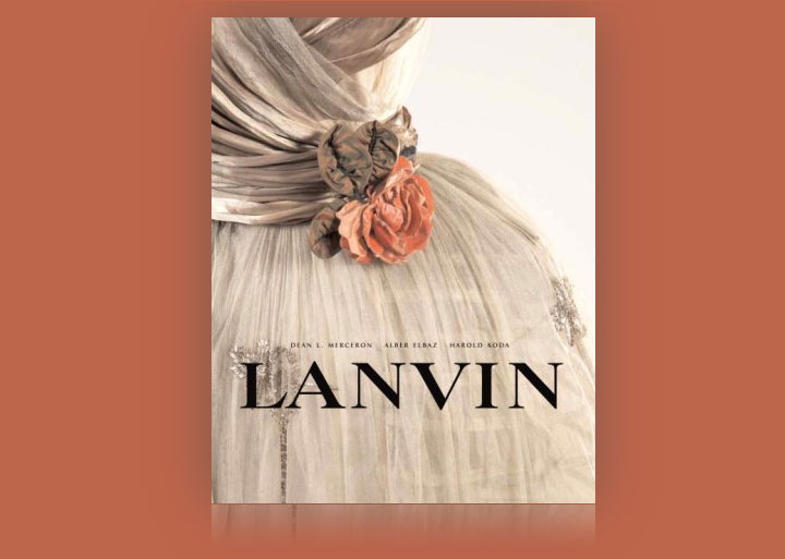 coffee table books lanvin fashion