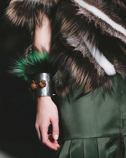 Love Furry Accessories? Check Out These Fendi Bracelets