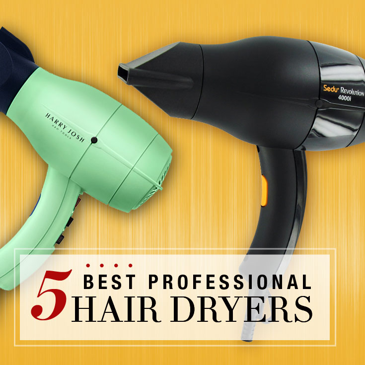 top 5 best professional hair dryers