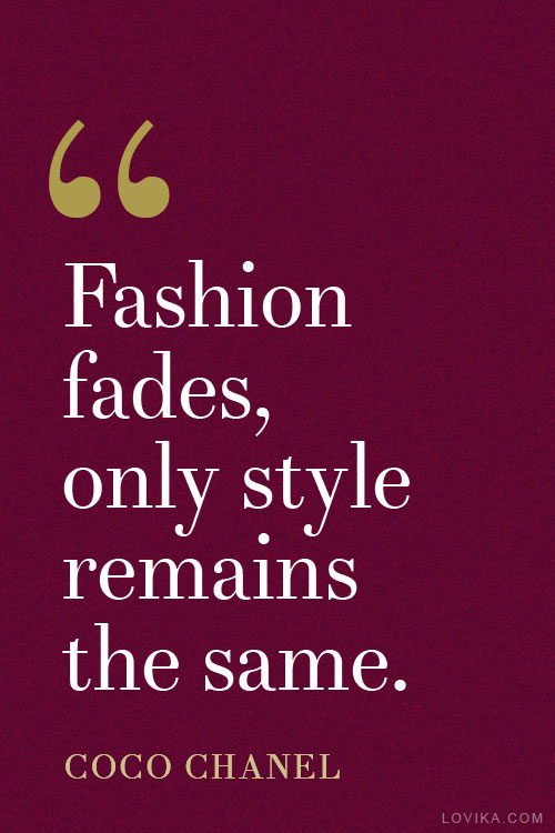 best fashion quotes 2015 coco chanel