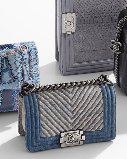 Chanel denim bags