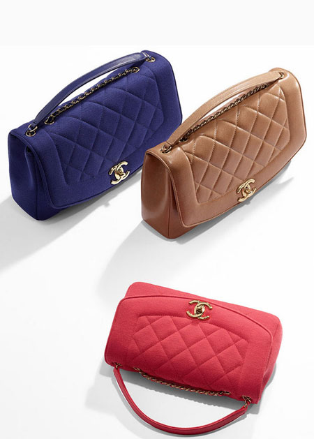 chanel jersey flap handbags spring summer 2015 pre collection