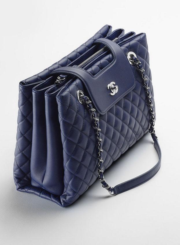 chanel shopping bag spring summer 2015 pre collection