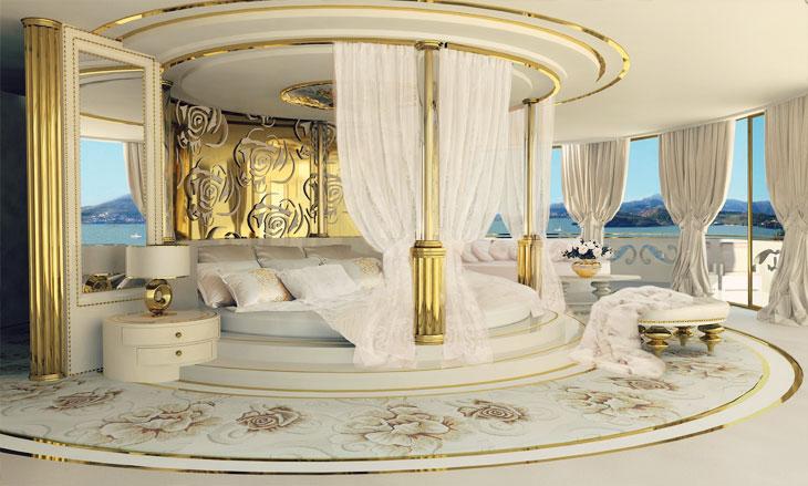 Lidia Bersani La belle Yacht Interior