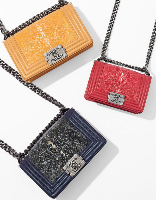 small boy chanel flap bags spring summer 2015 pre collection