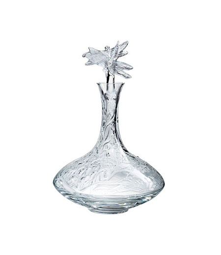 Lalique Dragonfly Wine Decanter, $3395