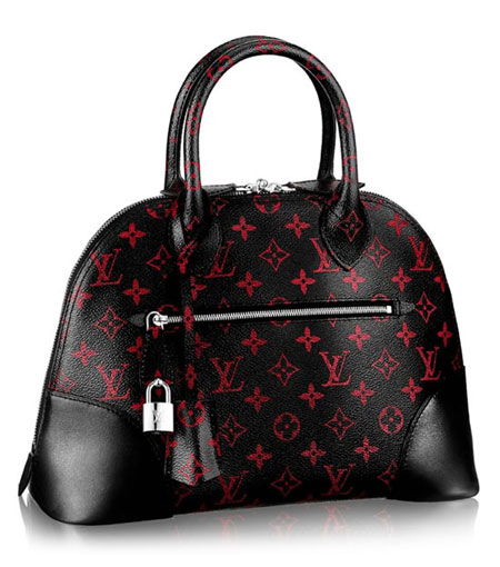Louis Vuitton Alma Monogram Infrarouge PM Handbag