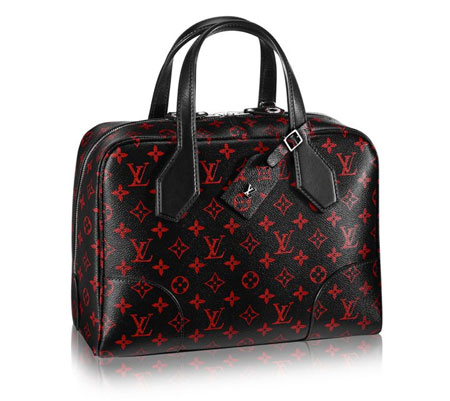 Louis Vuitton Dora Soft Monogram Infrarouge MM