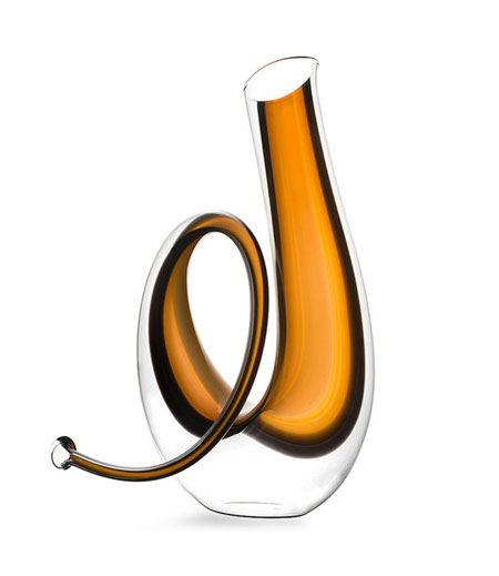 Ridel Horn Wine Decanter, $850