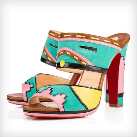 Christian Louboutin Tribaloubi Azunika Sandals