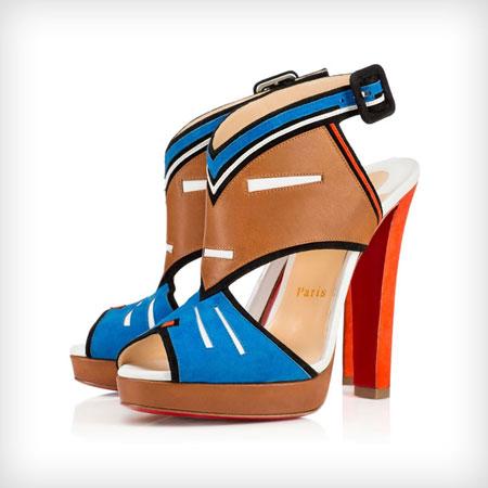Christian Louboutin Tribaloubi Azuniraco Sandals