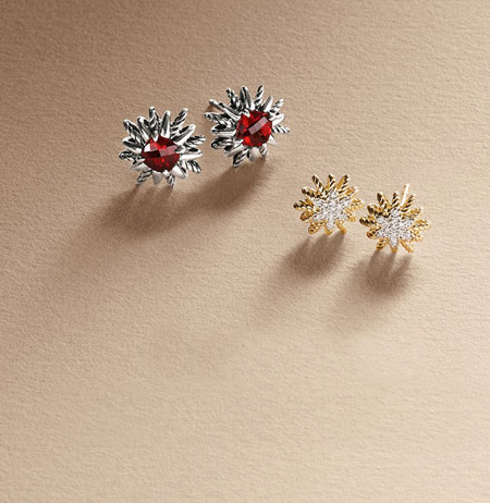 david yurman starburst earrings