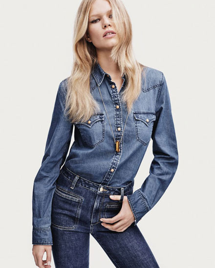 Denim fashion trends shopping