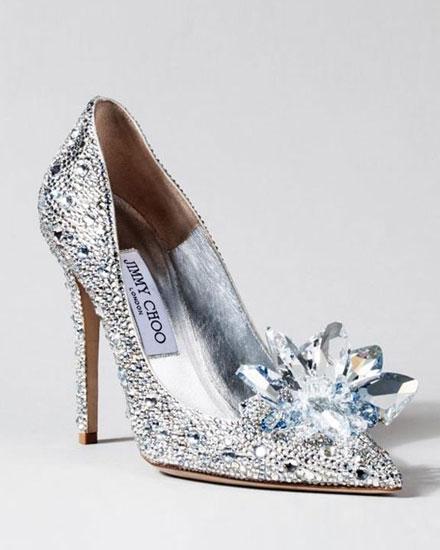 73f8d9516a24 Jimmy Choo Recreates Cinderella s Glass Slipper