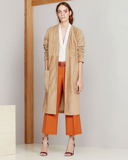 Stylish suede for fall