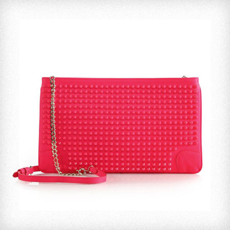 Christian Louboutin designer clutch bags
