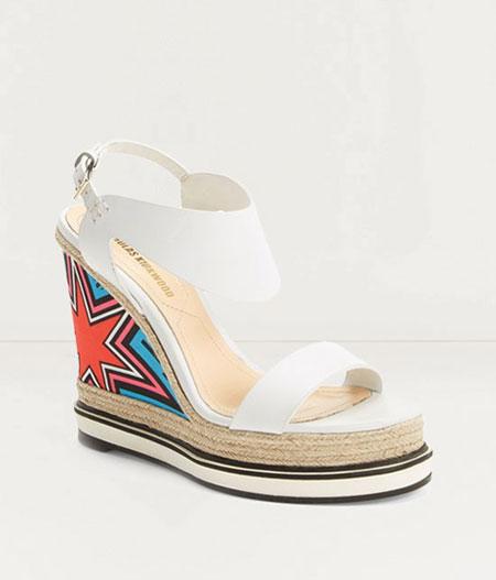 wedge platform sandals for spring and summer