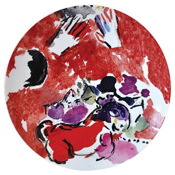 Bernardaud Marc Chagall Coupe Plates