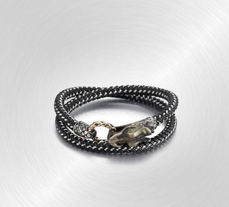 Braided Wrap Sterling Silver Bracelet by John Hardy
