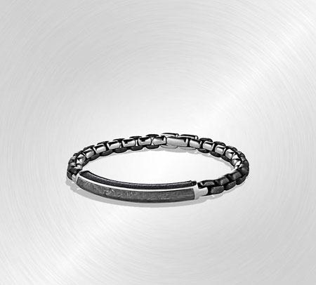 David Yurman Meteorite ID Bracelet