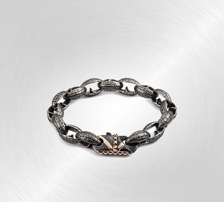Steel Link Bracelet by Stephen Webster