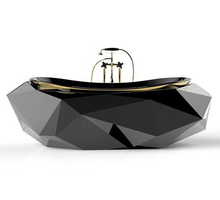 Masion Valentina Diamond Bathtub