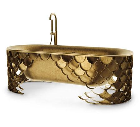 Masion Valentina Koi Bathtub