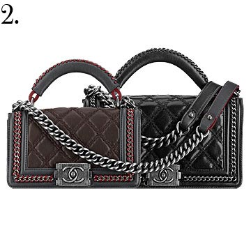 chanel bags from fall winter 2015 handbag collection