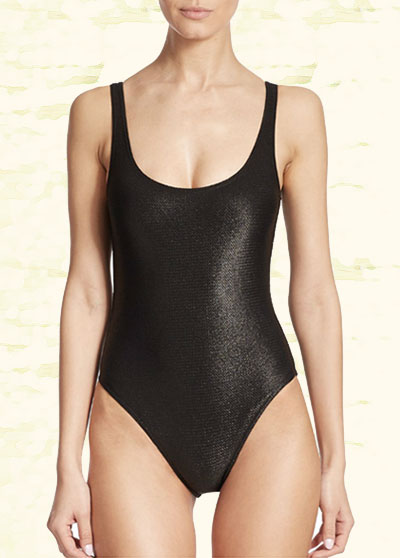 Marie France Van Damme swimsuit