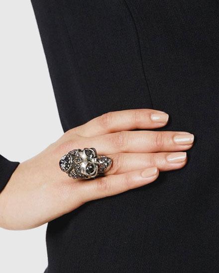 Alexander McQueen Skull Jewelry Collection