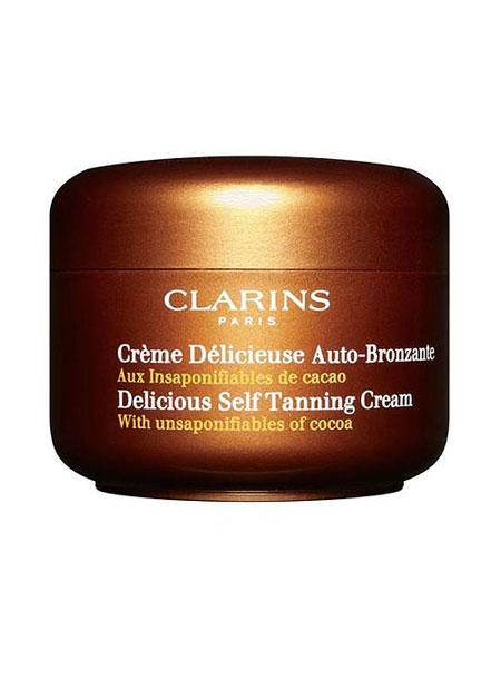Cali girl summer essentials Clarins delicious self tanning cream