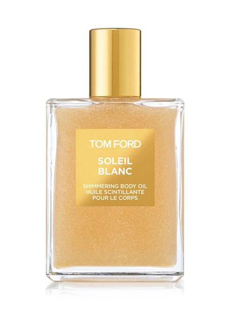 Cali girl summer essentials Tom Ford Soleil Blanc Shimmering body oil