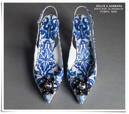 Dolce & Gabbana majolica shoes