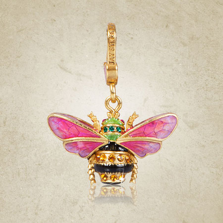 Jay Strongwater Muriel Bee Charm