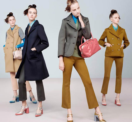 Prada Ad Campaign 2015 FW