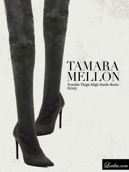 Tamara Mellon   Trouble Thigh-High Suede Boots