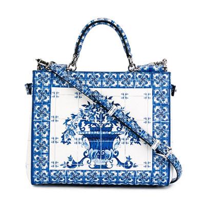 Dolce & Gabbana majolica print handbags