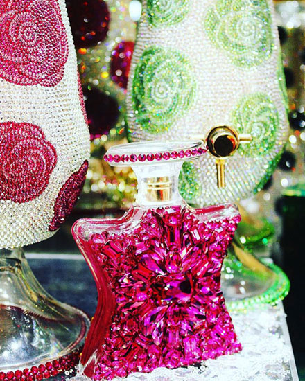 Bond No 9 New York Swarovski Crystal Perfume Bottles