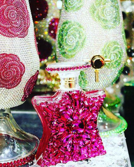 Bond No 9 New York Swarovski Crystal Perfume Bottles