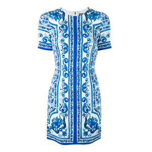 Dolce & Gabbana majolica dresses